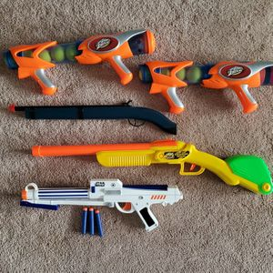 5 Kids Blasters Toy Lot for Sale in Hanover, MD