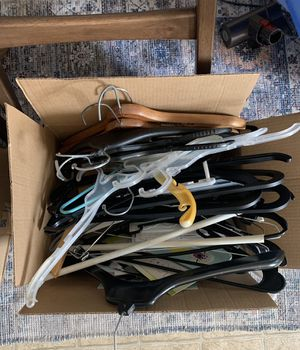 FREE clothes hangers for Sale in Shavertown, PA