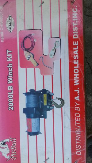 Winch kit for Sale in Los Angeles, CA