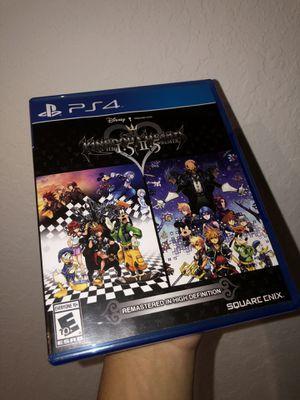 Kingdom Hearts 1.5 + 2.5 Remix (PS4) for Sale in Princeton, FL