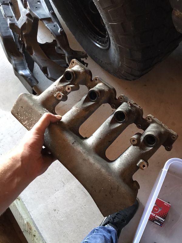 AMU intake manifold tow hook mount diverter valve