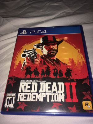 Red Dead Redemption 2 PS4 for Sale in Converse, TX