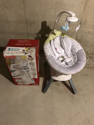 Fisher Price Soothing Seat for Sale in Monroe Township, NJ