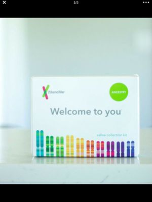 23andMe DNA Test Ancestry Collection Kit Saliva Collection Gift Family History for Sale in Laguna Beach, CA