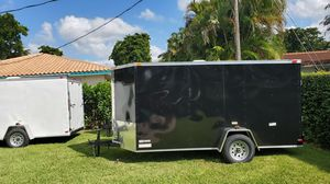 """2020 6x12 6'3"""" enclosed trailer for Sale in Coral Springs, FL"""