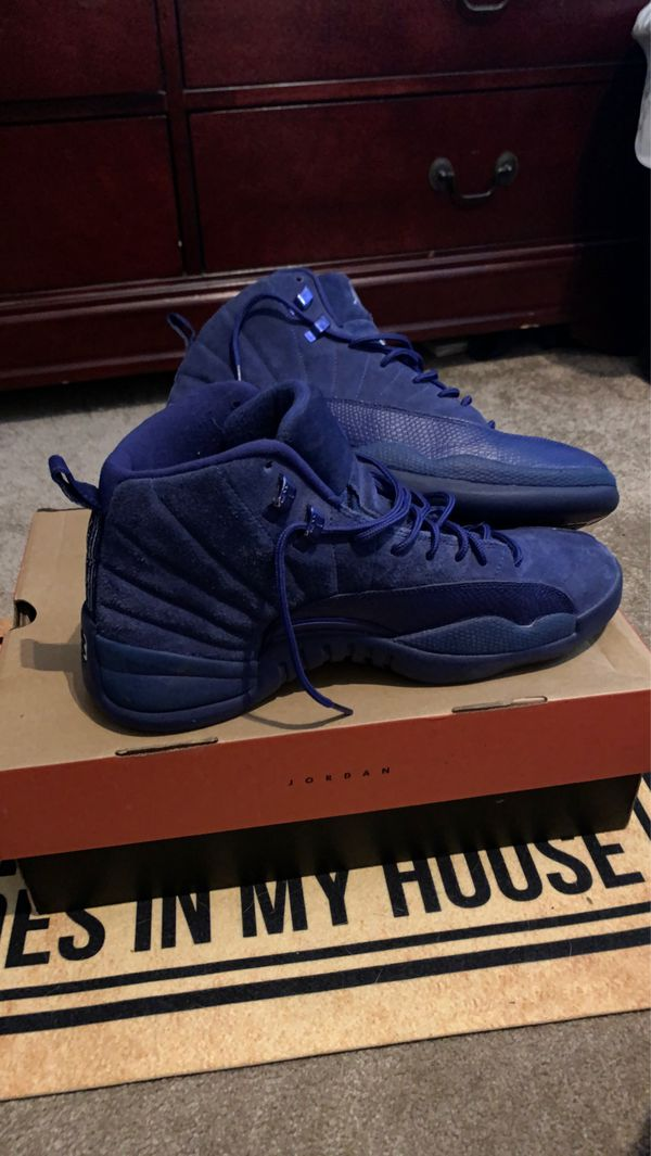 Size 10 jordan 12 deep royal