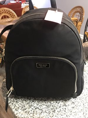 Authentic Kate Spade Dawn Black Nylon Backpack NEW for Sale in Salisbury, NC
