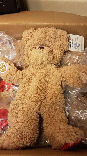 Build a bear timeless teddy unstuffed lot of 4 for Sale in Chesapeake, VA