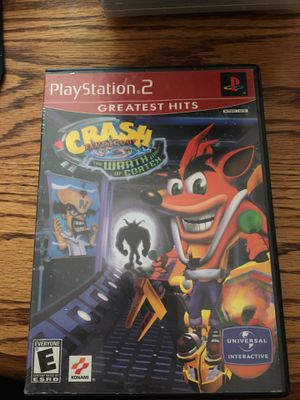Crash Bandicoot The Wrath of Cortex for PlayStation 2 for Sale in Lewis Center, OH