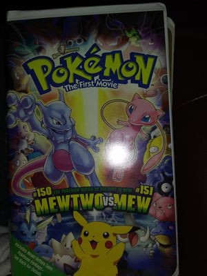 Movie VHS Poke mon for Sale in Chesterfield, MO
