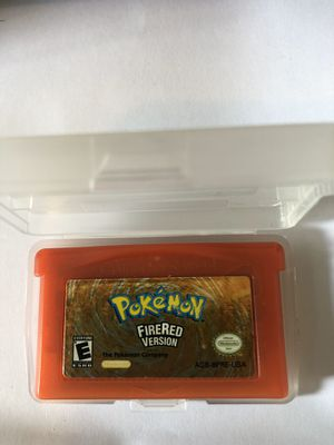 Pokémon Fire Red Nintendo Game Boy Advance for Sale in South Gate, CA