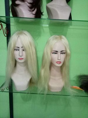 Silk top & Mono top front lace wigs non chinese wavy/straight available other need remy process for Sale in Washington, DC