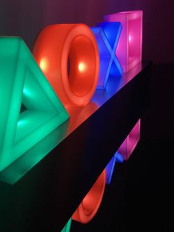 Playstation Icons Light with 3 Light Modes - Music Reactive Game Room Lighting for Sale in Miami,  FL