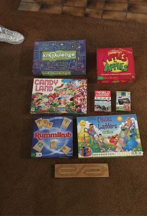 Assorted board games for Sale in Benicia, CA