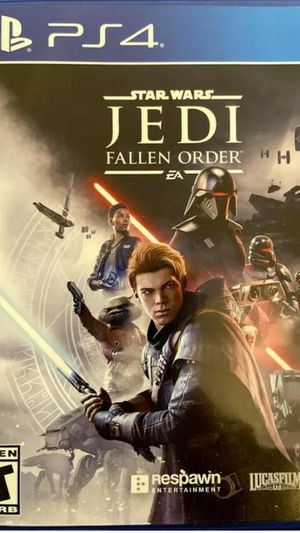 Star Wars Jedi Fallen Order for PS4 - Factory sealed Pickup Acton ma or ships for $3 for Sale in Westford, MA