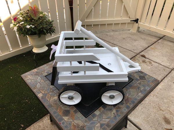 Wedding cart for baby/flower girl