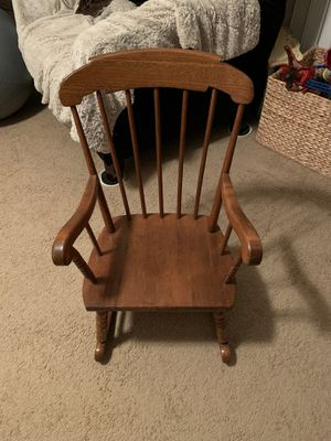 Child's rocking chair for Sale in Garner, NC