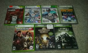Xbox 360 game lot of 7 games for Sale in Salt Lake City, UT