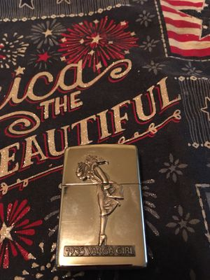 1935 Varga girl zippo for Sale in Parma Heights, OH