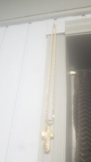 14 K Gold Christian necklace for Sale in Pekin, IL