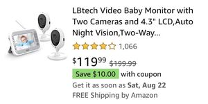 Lb tech with two cameras for Sale in Apache Junction, AZ
