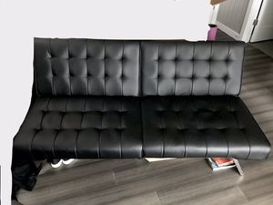 Convertible couch Futon sofa bed for Sale in Edmonds, WA