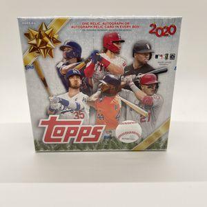 2020 Topps Holiday Baseball MLB Mega Box for Sale in Potomac, MD