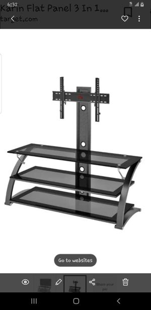 TV stand Dimensions (Overall): 56.62 Inches (H) x 60 Inches (W) x 21.25 Inches (D) for Sale in Bakersfield, CA