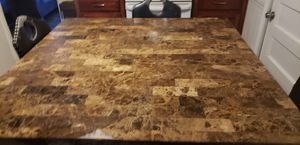 Marble kitchen table 54×54 inch for Sale in Fort Worth, TX