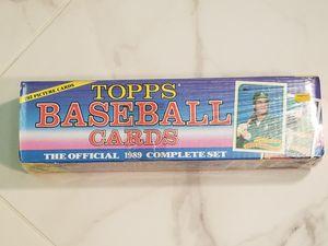 1989 Topps Baseball Card Set 1-792 Sealed for Sale in Tamarac, FL