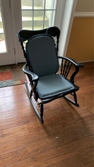 Rocking chair dark brown for Sale in Haymarket, VA