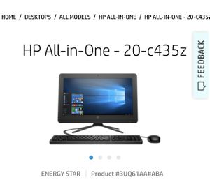 All in one Hp computer for Sale in Philadelphia, PA