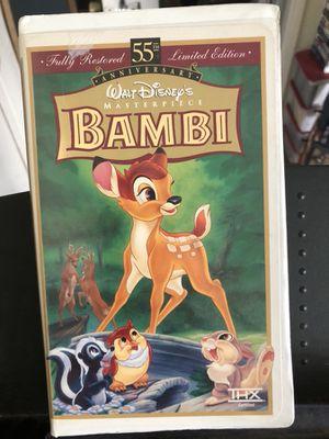 Bambi Walt Disney movie for Sale in Pomona, CA