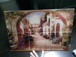Beautiful new wall art!!! Tuscany style!!! for Sale in Fountain Valley, CA
