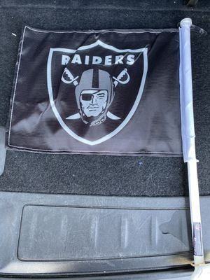 Raiders Car Flags for Sale in Reedley, CA