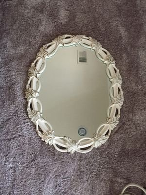 White and Gold Mirror for Sale in Arlington, VA