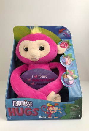 Brand new Fingerlings Hugs Bella Pink Monkey plush for Sale in Phoenix, AZ