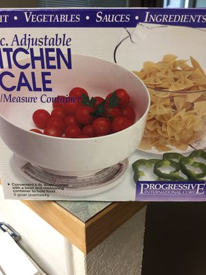 kitchen scale by progressive international for Sale in Olympia, WA