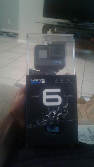 GoPro hero 6 black for Sale in Austin, TX