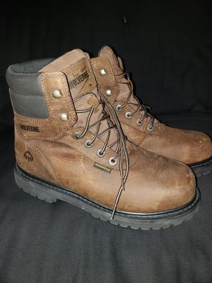 Wolverine Men's Steel Toe Work Boots for Sale in Dallas, TX