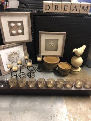 Home Decor - Candles-Pots-pictures for Sale in San Leandro, CA