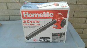 Homelite 150 mph 400 CFM 2-cycle handheld gas leaf blower for Sale in Wittmann, AZ