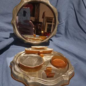 Antique Bakelite Tortoiseshell Dresser Top Makeup Case for Sale in Cannon Beach, OR