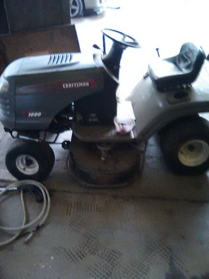 Craftsman ride along lawn mower for Sale in Reedley, CA