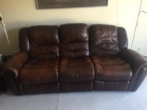 Couch (2 recliners) for sale for Sale in Chicago, IL