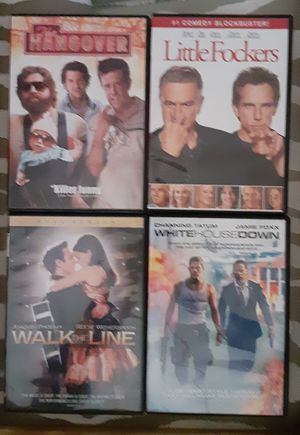 4 great movies on DVD! for Sale in Fruitland Park, FL