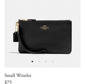 Authentic Coach Wristlet/Wallet for Sale in Sacramento, CA