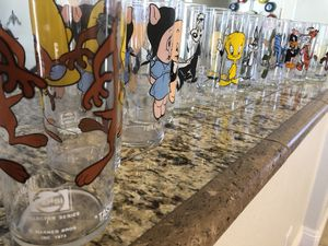 1973 Pepsi cartoon collectible glasses for Sale in Chandler, AZ
