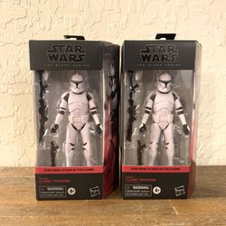 Star Wars Black Series Clone Trooper X2 for Sale in Pomona,  CA
