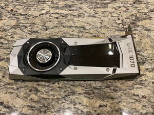 Nvidia GTX 1070 8GB Founders edition Gaming for Sale in Santa Ana, CA